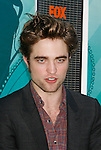 UNIVERSAL CITY, CA. - August 09: Actor Robert Pattinson arrives at the Teen Choice Awards 2009 held at the Gibson Amphitheatre on August 9, 2009 in Universal City, California.