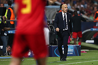Italy coach Luigi Di Biagio looks on<br /> Reggio Emilia 22-06-2019 Stadio Città del Tricolore <br /> Football UEFA Under 21 Championship Italy 2019<br /> Group Stage - Final Tournament Group A<br /> Belgium - Italy<br /> Photo Cesare Purini / Insidefoto