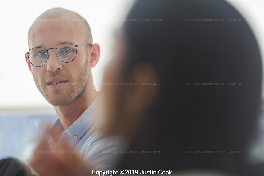 Portraits at Duke University's Fuqua School of Business in Durham, North Carolina, Wednesday, September 18, 2019  (Justin Cook)