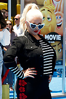 """LOS ANGELES - JUL 23:  Christina Aguilera at """"The Emoji Movie"""" Premiere at the Village Theater on July 23, 2017 in Westwood, CA"""