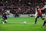 UEFA Champions League 2013/2014.<br /> FC Barcelona vs Celtic FC: 6-1 - Game: 6.<br /> 3-0: Neymar.