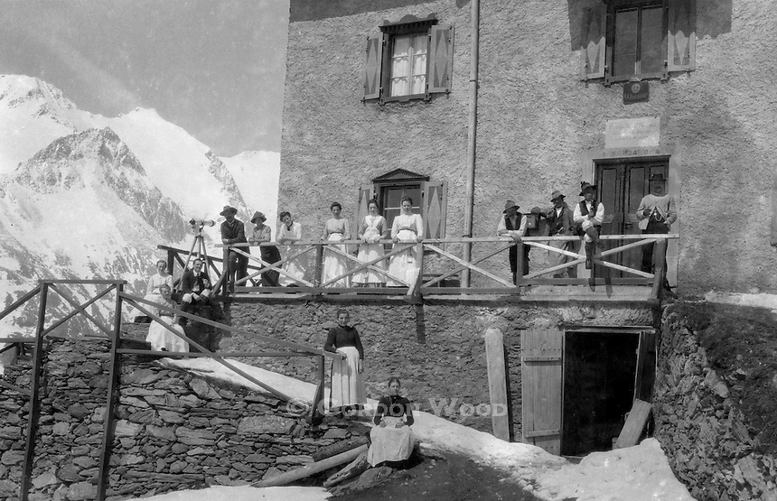 Resort in the Austrian Alps (Pre 1920)