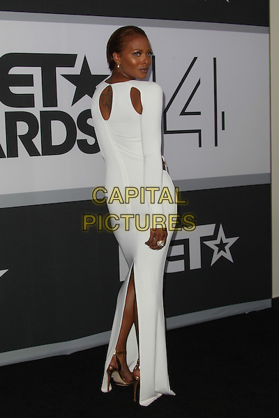 Los Angeles, CA - June 29:  Eva Marcille, attends the 2014 BET Awards - Press Room at The Nokia Theatre  in Los Angeles, California on June 29, 2014.  <br /> CAP/MPI/RTNUPA<br /> &copy;RTNUPA/MediaPunch/Capital Pictures