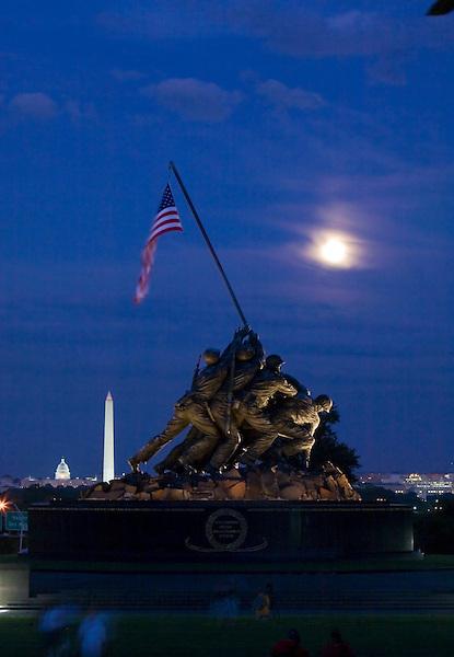 Iwo Jima Memorial - Marine Corp Memorial Washington DC Arlington Virginia