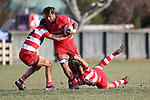 NELSON, NEW ZEALAND - JUNE 22 Div 1 Rugby Waimea Old Boys v Stoke on June 22 at Jubilee Park 2019 in Nelson, New Zealand. (Photo by: Evan Barnes Shuttersport Limited)