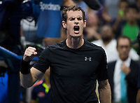 ANDY MURRAY (GBR)<br /> <br /> TENNIS - THE US OPEN - FLUSHING MEADOWS - NEW YORK - ATP - WTA - ITF - GRAND SLAM - OPEN - NEW YORK - USA - 2016  <br /> <br /> <br /> <br /> &copy; TENNIS PHOTO NETWORK