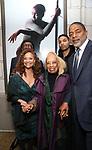 Debbie Allen, Vivian Ayers, Nornam Nixon Jr. and Norm Nixon attends the Broadway Opening Night of  'Saint Joan' at the Samuel J. Friedman Theatre on April 25, 2018 in New York City.