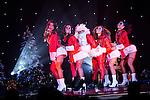 "© Joel Goodman - 07973 332324 . 26/06/2013 . Manchester , UK . Santa Claus cabaret skit . The Ladyboys of Bangkok perform their show , "" Glamorous Amorous "" at the Sabai Pavilion , in Manchester , as part of their 2013 UK tour . Photo credit : Joel Goodman"
