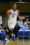 05 November 2015: Duke's Azura Stevens. The Duke University Blue Devils hosted the Pfeiffer University Falcons at Cameron Indoor Stadium in Durham, North Carolina in a 2015-16 NCAA Women's Basketball Exhibition game. Duke won the game 113-36.