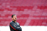 Simeone will be coach from Atletico Madrid until 2020, in the pic: Atletico de Madrid's coach Diego Pablo Cholo Simeone during training session previous to the UEFA Champions League 2013/2014 Final match.May 23,2014. (ALTERPHOTOS/Acero)