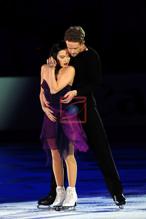 ISU Grand Prix of Figure Skating FINAL Barcelona 2014/2015.<br /> Madison Chok &amp; Evan Bates.