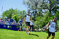 Madelene Sagstrom (SWE) departs the first tee during Sunday's final round of the 2017 KPMG Women's PGA Championship, at Olympia Fields Country Club, Olympia Fields, Illinois. 7/2/2017.<br /> Picture: Golffile | Ken Murray<br /> <br /> <br /> All photo usage must carry mandatory copyright credit (&copy; Golffile | Ken Murray)