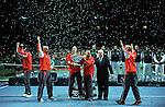 TENIS, BEOGRAD, 05. Dec. 2010. -  Teniseri Srbije pobednici su Davis cupa za 2010. godinu. Finale Davis cup-a izmedju selekcija Srbije i Francuske koje se igra od 3-5 decembra u beogradskoj Areni. Davis cup final Serbia vs France. Foto: Nenad Negovanovic