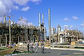 Bahia, Brazil. Petrobras oil refinery at Camacari.