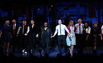 Julie Halston, Reggie Jackson, Danny Burstein, Maggie Gyllenhaal, Whoopi Goldberg, Matthew Morrison, Victoria Clark, Stephen Bogardus, Adrienne Warren, Annie Golden and cast during the Curtain Call for the Roundabout Theatre Company presents a One-Night Benefit Concert Reading of 'Damn Yankees' at the Stephen Sondheim Theatre on December 11, 2017 in New York City.