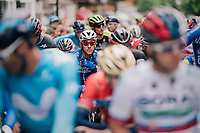 Philippe Gilbert (BEL/Quick Step floors) at the start<br /> <br /> Stage 5: Gstaad &gt; Leukerbad (155km)<br /> 82nd Tour de Suisse 2018 (2.UWT)
