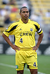 12 Jun 2004: Crew captain Robin Fraser before the match. The Columbus Crew and Kansas City Wizards tied 2-2 at Crew Stadium in Columbus, OH during a regular season Major League Soccer game..