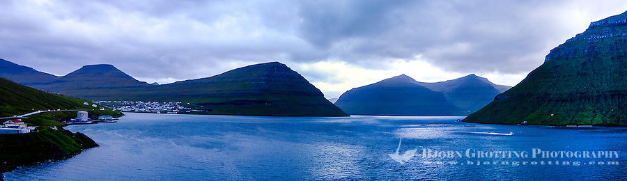 Faroe Islands. Coast close to Klaksvik.