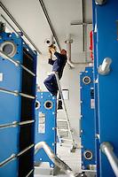 Deutschland, Niedersachsen, Zesen, Biogasanlagenhersteller MT Energie, Betriebe aus der Branche der erneuerbare Energie sind ein Jobmotor und schaffen viele neue Arbeitsplaetze / Germany GER , Biogas plant manufacturer MT Energy