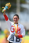 Sarah Storey (GBR), <br /> SEPTEMBER 17, 2016 - Cycling - Road : <br /> Women's Road Race C4-5 Medal Ceremony <br /> at Pontal <br /> during the Rio 2016 Paralympic Games in Rio de Janeiro, Brazil.<br /> (Photo by AFLO SPORT)