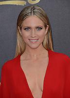 Brittany Snow @ the 2016 MTV Movie Awards held @ the Warner studios.<br /> April 9, 2016
