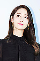 South Korean singer and actress Im Yoona poses for the cameras during the opening celebration for Louis Vuitton's ''Volez, Voguez, Voyagez'' exhibition on April 21, 2016, Tokyo, Japan. After a successful run in Paris, the luxury fashion brand now brings the instalment to Tokyo, which traces Louis Vuitton's history from 1854 to today. Some 1,000 objects, including rare trunks, photographs and handwritten client cards will be displayed. Japanese room will be set up specially for Japan, showcasing such rare items as makeup and tea ceremony trunks for kabuki actor Ebizo XI. The exhibition will be open to the public free of charge from April 23 to June 19. (Photo by Rodrigo Reyes Marin/AFLO)