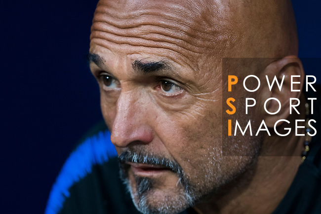 Coach Luciano Spalletti of FC Internazionale prior to their International Champions Cup Europe 2018 match between Atletico de Madrid and FC Internazionale at Wanda Metropolitano on 11 August 2018, in Madrid, Spain. Photo by Diego Souto / Power Sport Images