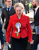 Margaret Beckett<br /> Female Labour MPs and members of the Labour Party at a photocall launching a year long campaign to celebrate the centenary of women's suffrage, at House of Commons, London on February 06, 2018.<br /> CAP/JOR<br /> &copy;JOR/Capital Pictures