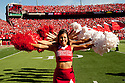 October 16, 2010: Nebraska Cheerleaders before the Texas game at Memorial Stadium in Lincoln, Nebraska. Texas defeated Nebraska 20 to 13.