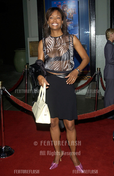 Actress AISHA TYLER at the Los Angeles premiere of Wonderland..Sept 24, 2003