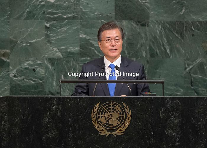 72 General Debate – 20 September <br /> <br /> His Excellency Moon Jae-in, President of the Republic of Korea