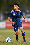 BRISBANE, AUSTRALIA - JULY 15:  during the NPL Senior Men's Round 21 match between Olympic FC and Gold Coast United on July 15, 2018 in Brisbane, Australia. (Photo by Olympic FC / Patrick Kearney)