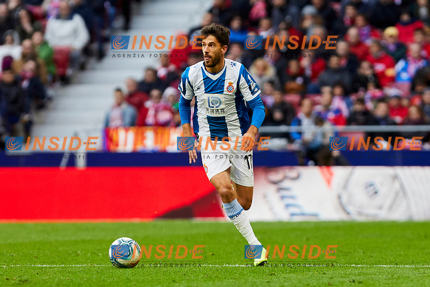 Didac Vila of RCD Espanyol during La Liga match between Atletico de Madrid and RCD Espanyol at Wanda Metropolitano Stadium in Madrid, Spain. November 10, 2019. (ALTERPHOTOS/A. Perez Meca)<br /> Liga Spagna 2019/2020 <br /> Atletico Madrid - Espanyol <br /> Photo Alterphotos / Insidefoto <br /> ITALY ONLY