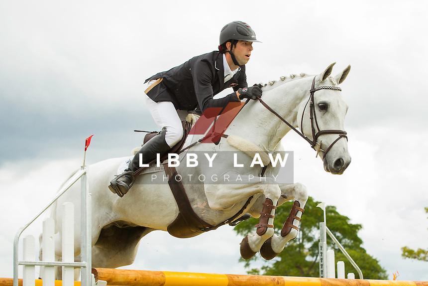 2014 CIC3* TITLE WINNER: NZL-Clarke Johnstone (BALMORAL SENSATION) FINAL-1ST: 2014 NZL-BNZ Kihikihi International Horse Trial (Sunday 13 April) CREDIT: Libby Law COPYRIGHT: LIBBY LAW PHOTOGRAPHY - NZL