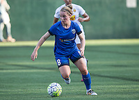 Seattle, WA - Saturday July 16, 2016: Kim Little during a regular season National Women's Soccer League (NWSL) match between the Seattle Reign FC and the Western New York Flash at Memorial Stadium.