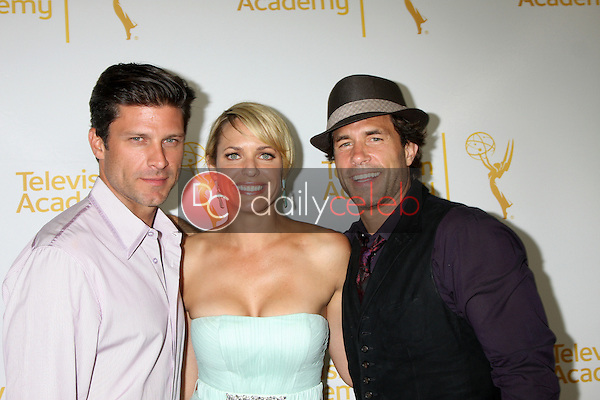 LOS ANGELES - JUN 19:  Greg Vaughn, Arianne Zucker, Shawn Christian at the ATAS Daytime Emmy Nominees Reception at the London Hotel on June 19, 2014 in West Hollywood, CA