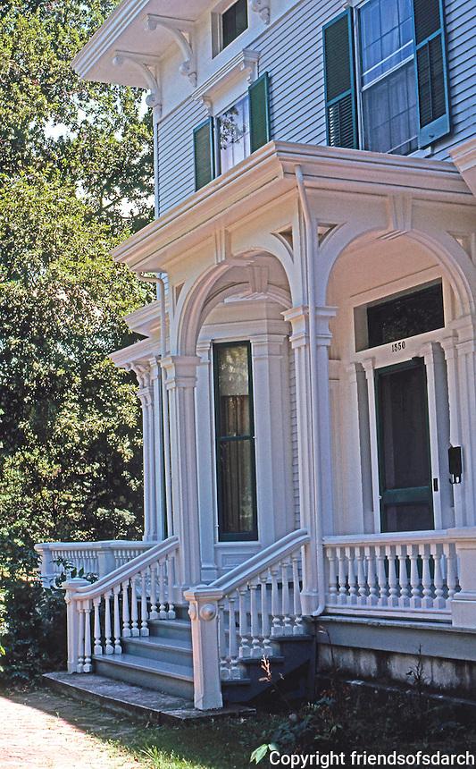 Quincy: Bull House, c. 1856. Photo '77.
