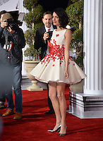 Lawyer Amal Clooney, wife of George Clooney, at the world premiere of &quot;Hail Caesar!&quot; at the Regency Village Theatre, Westwood.<br /> February 1, 2016  Los Angeles, CA<br /> Picture: Paul Smith / Featureflash