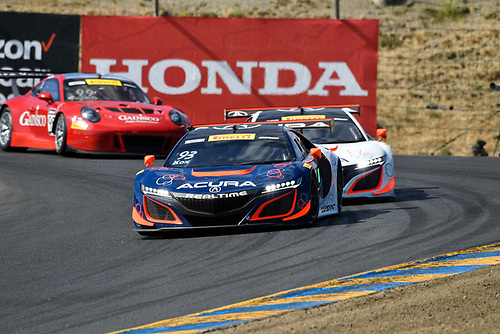Pirelli World Challenge<br /> Grand Prix of Sonoma<br /> Sonoma Raceway, Sonoma, CA USA<br /> Friday 15 September 2017<br /> Peter Kox, Ryan Eversley<br /> World Copyright: Richard Dole<br /> LAT Images<br /> ref: Digital Image RD_NOCAL_17_020