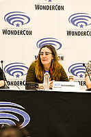 Cecil Castellucci at Wondercon in Anaheim Ca. March 31, 2019