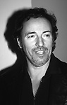 """Bruce Springsteen attends aThe Premiere of """"The Sopranos"""" at the State Theatre  on January 1, 1999 in New York City."""