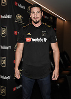 "LOS ANGELES - AUGUST 21:  JD Pardo at FX's ""Mayans M.C."" Activation at Los Angeles Football Club at Banc of California Stadium on August 21, 2019 in Los Angeles, California. (Photo by Scott Kirkland/FX Networks/PictureGroup)"