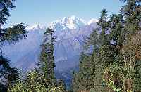 "The trek towards Tibet in central northern Nepal takes the traveller through the majestic scenery of the Langtang National Park. H.W. Tilman, who, in the 1950s, accompanied Eric Shipton there on one of the first foreign expeditions to Nepal, described it as ""one of the most beautiful valleys in the world."""