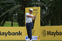 Thorbjorn Olesen (DEN) in action on the 7th during Round 1 of the Maybank Championship at the Saujana Golf and Country Club in Kuala Lumpur on Thursday 1st February 2018.<br /> Picture:  Thos Caffrey / www.golffile.ie<br /> <br /> All photo usage must carry mandatory copyright credit (&copy; Golffile | Thos Caffrey)