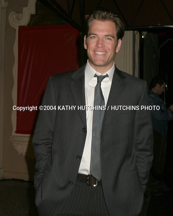 ©2004 KATHY HUTCHINS / HUTCHINS PHOTO.CBS TV TCA WINTER PRESS TOUR.PARTY.LOS ANGELES, CA.JANUARY 17, 2004..MICHAEL WEATHERLY.