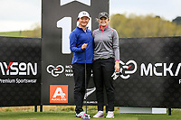 NZ Amateurs Rose Zheng and Amelia Garvey.<br /> McKayson NZ Women's Golf Open, first Practice Round, Windross Farm Golf Course, Manukau, Auckland, New Zealand, Monday 25 September 2017.  Photo: Simon Watts/www.bwmedia.co.nz