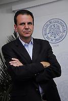 ELEI&Ccedil;&Otilde;ES 2012 - EDUARDO PAES PREFEITO E CANDIDATO A REELEI&Ccedil;&Atilde;O.<br /> RIO DE JANEIRO,RJ  21 DE AGOSTO 2012 - Nesta manh&atilde; de ter&ccedil;a feira 21, o prefeito da cidade do Rio de Janeiro, almo&ccedil;a na associa&ccedil;&atilde;o comercial da cidade do Rio de Janeiro.<br /> Eduardo Paes, Antenor Barros Leal presidente da Associa&ccedil;&atilde;o Comercial, e Francisco Dornelles, senador da rep&uacute;blica.<br /> FOTO RONALDO BRAND&Atilde;O/BRAZILPHOTO PRESS