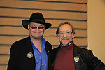 "As The World Turns Micky Dolenz ""The Vicar"" & Peter Tork of the Monkees as they participate in autography signing and photo taking at Chiller Theatre 2013 on April 28, 2013 at the Parsippany Sheraton Hotel, Parsippany, New Jersey where they sign, pose for fans. It was a three day event.  (Photo by Sue Coflin/Max Photos)"