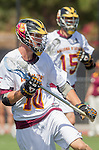 Orange, CA 05/17/14 - Kyle Denis (Arizona State #10) in action during the 2014 MCLA Division I Men's Lacrosse Championship game between Arizona State and Colorado at Chapman University in Orange, California.  Colorado defeated Arizona State 13-12.