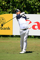 Jazz Janewattananond (THA) in action on the 8th during Round 3 of the Maybank Championship at the Saujana Golf and Country Club in Kuala Lumpur on Saturday 3rd February 2018.<br /> Picture:  Thos Caffrey / www.golffile.ie<br /> <br /> All photo usage must carry mandatory copyright credit (© Golffile | Thos Caffrey)